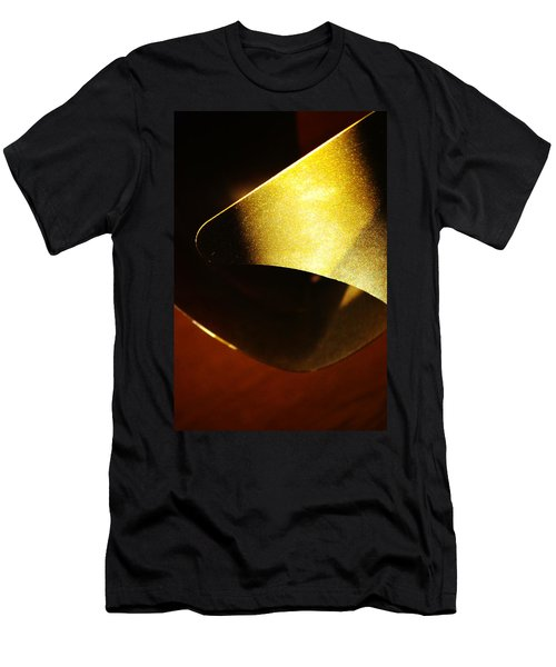 Composition In Gold Men's T-Shirt (Athletic Fit)