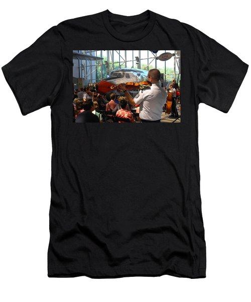 Concert Under The Planes Men's T-Shirt (Athletic Fit)