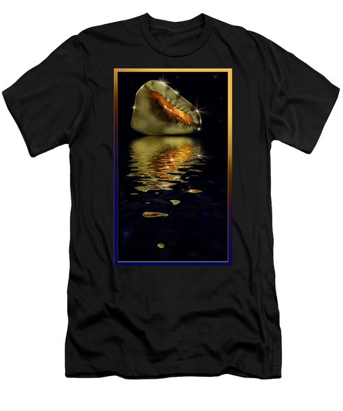 Conch Sparkling With Reflection Men's T-Shirt (Athletic Fit)