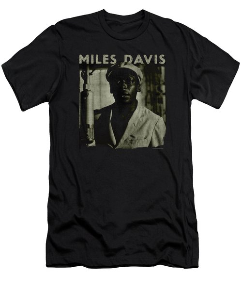 Concord Music - Miles Portrait Men's T-Shirt (Athletic Fit)
