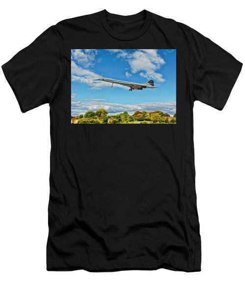 Concorde On Finals Men's T-Shirt (Athletic Fit)