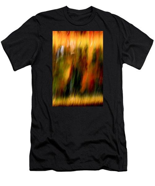 Condiments Men's T-Shirt (Slim Fit) by Darryl Dalton