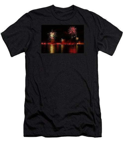 Conesus Ring Of Fire Men's T-Shirt (Slim Fit) by Richard Engelbrecht