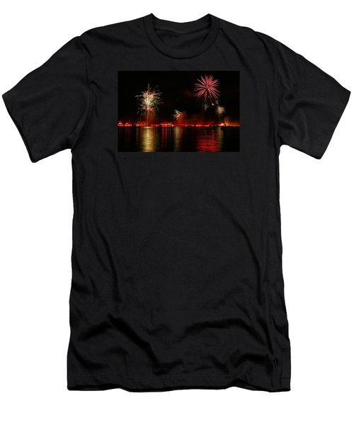 Conesus Ring Of Fire Men's T-Shirt (Athletic Fit)