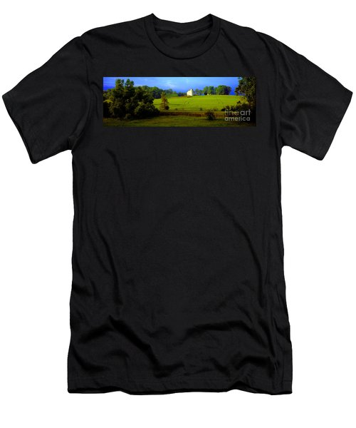 Conley Road Farm Spring Time Men's T-Shirt (Athletic Fit)
