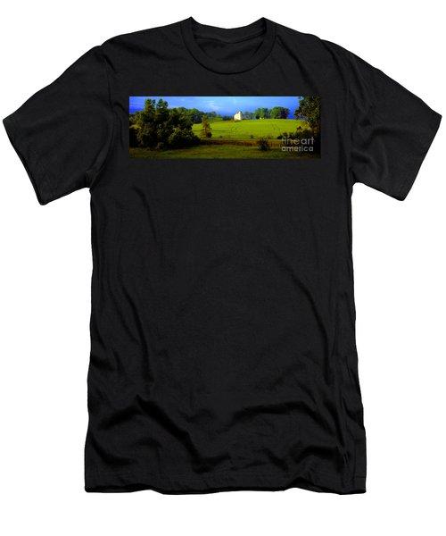 Conley Road Farm Spring Time Men's T-Shirt (Athletic Fit)