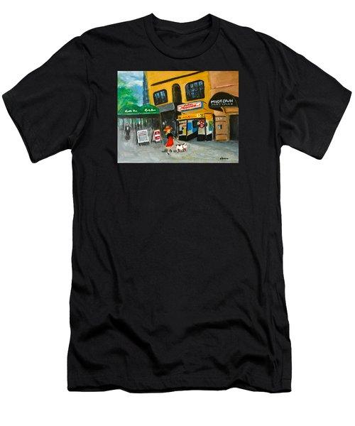 Connecticut Avenue Dc Men's T-Shirt (Athletic Fit)