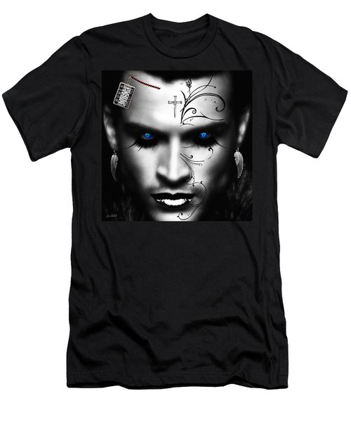 Conquistador Balck Men's T-Shirt (Athletic Fit)