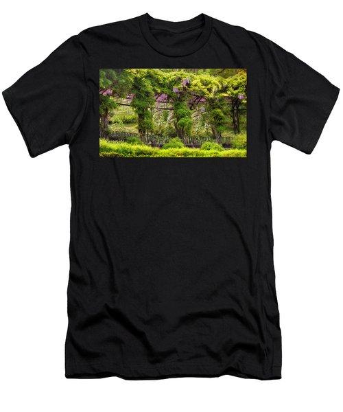 Conservatory Gardens Men's T-Shirt (Athletic Fit)