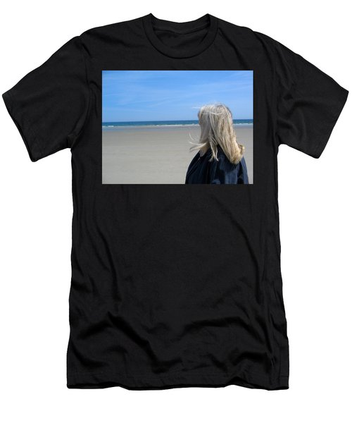 Contemplating The Stillness Men's T-Shirt (Athletic Fit)