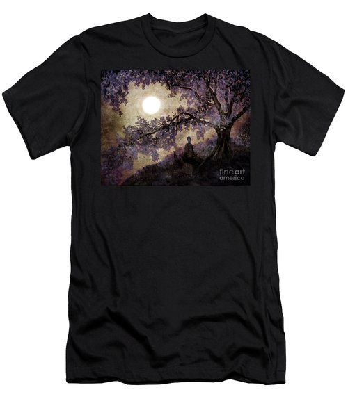 Contemplation Beneath The Boughs Men's T-Shirt (Athletic Fit)