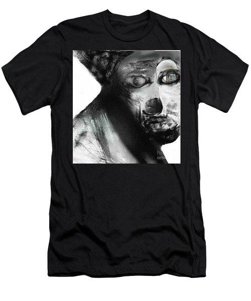 Contemporary Clown Men's T-Shirt (Athletic Fit)