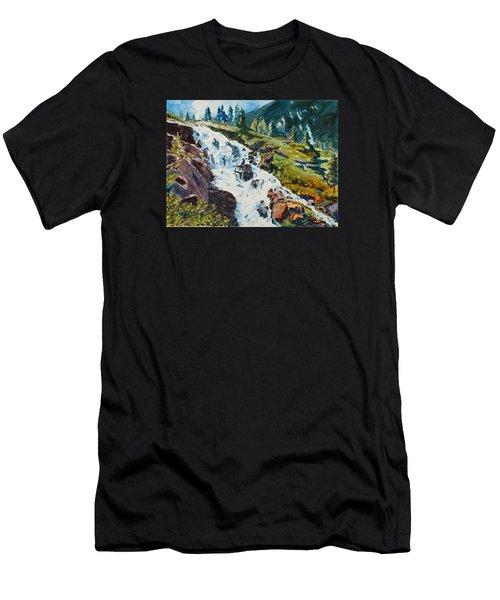 Continental Falls Men's T-Shirt (Athletic Fit)