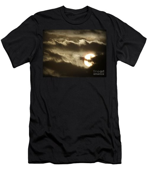 Men's T-Shirt (Slim Fit) featuring the photograph Contrast by Clare Bevan