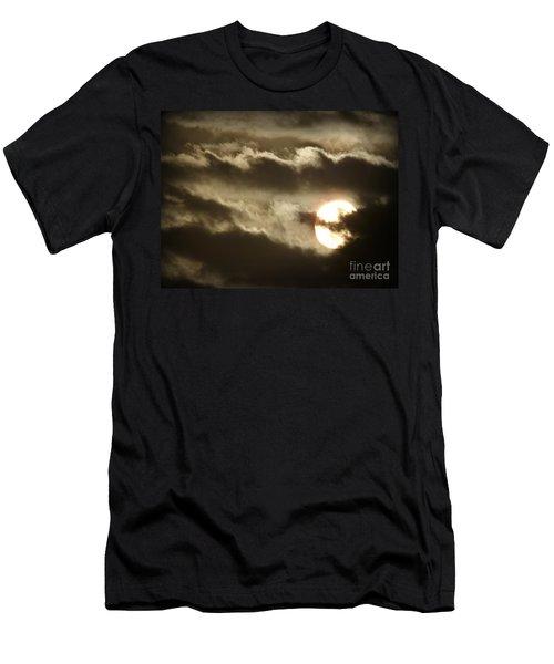 Contrast Men's T-Shirt (Slim Fit) by Clare Bevan