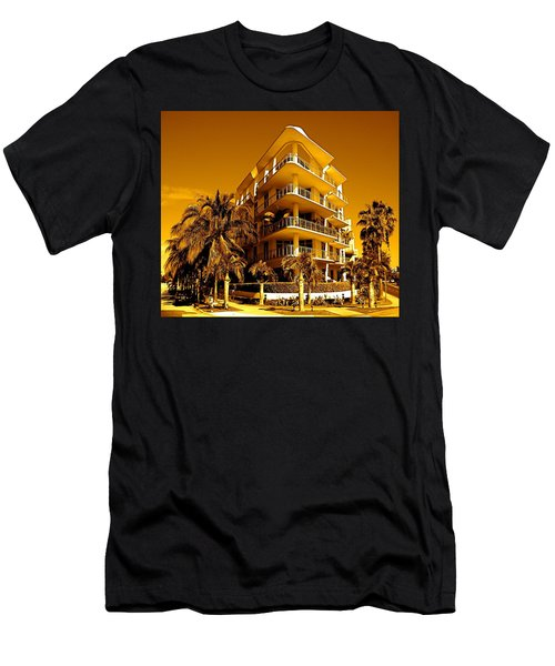 Cool Iron Building In Miami Men's T-Shirt (Athletic Fit)