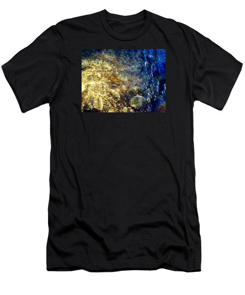 Men's T-Shirt (Slim Fit) featuring the photograph Cool Waters...of The Rifle River by Daniel Thompson