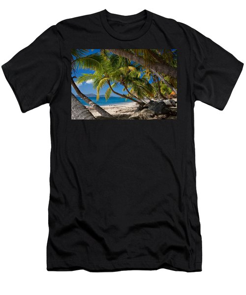 Cooper Island Men's T-Shirt (Athletic Fit)