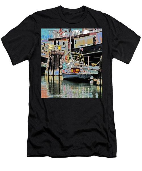 Coos Bay Harbor Men's T-Shirt (Athletic Fit)