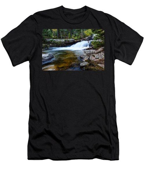 Copeland Falls Rockies Men's T-Shirt (Athletic Fit)