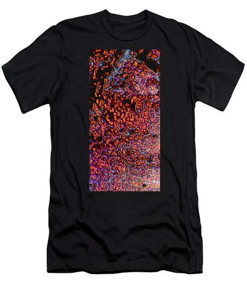 Men's T-Shirt (Slim Fit) featuring the photograph Copper Glow 2 by Stephanie Grant