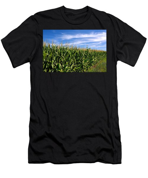 Cornfield And Clouds Men's T-Shirt (Athletic Fit)