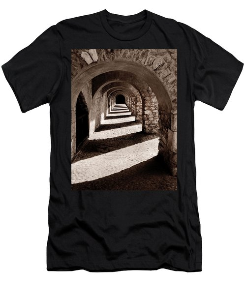Corridors Of Stone Men's T-Shirt (Athletic Fit)
