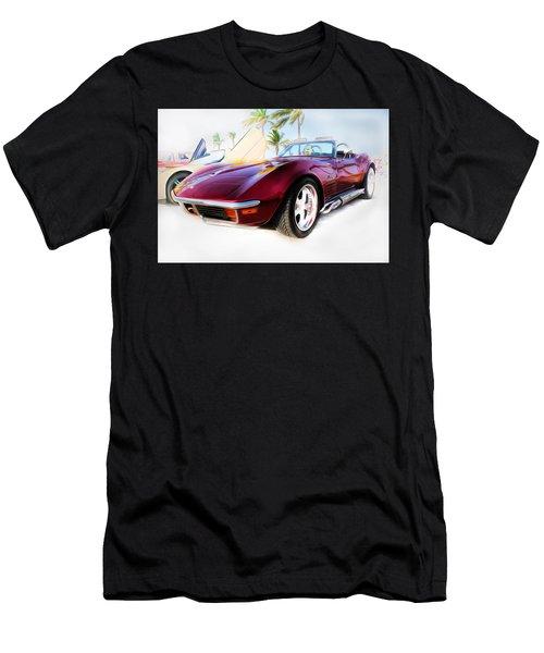 Chevrolet Corvette Series 02 Men's T-Shirt (Athletic Fit)