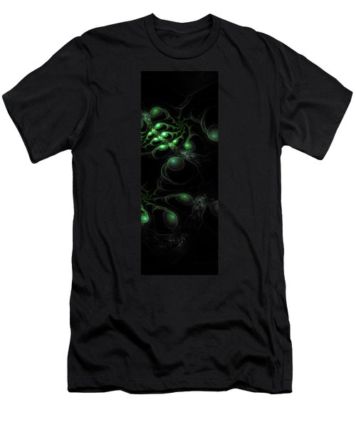Cosmic Alien Eyes Original 2 Men's T-Shirt (Athletic Fit)