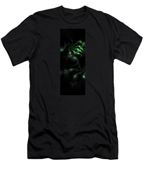 Cosmic Alien Eyes Original Men's T-Shirt (Athletic Fit)