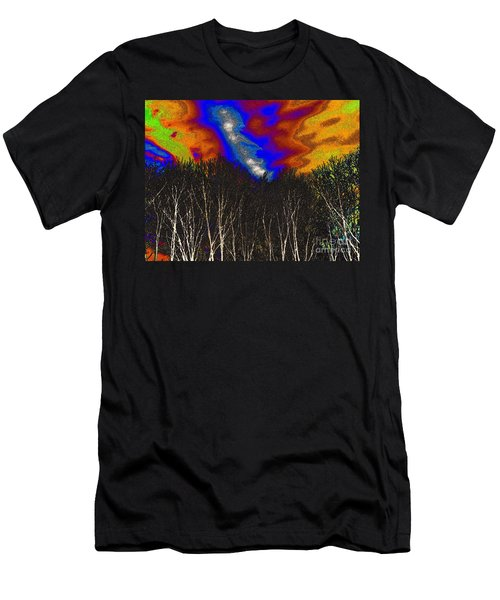 Cosmic Forces Men's T-Shirt (Athletic Fit)