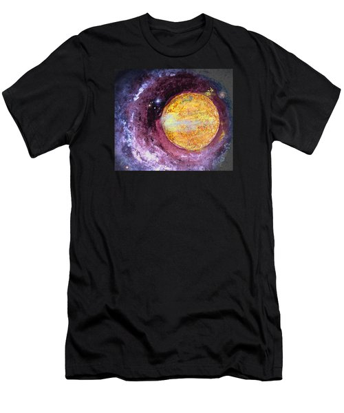 Men's T-Shirt (Slim Fit) featuring the photograph Cosmic by Kathy Bassett