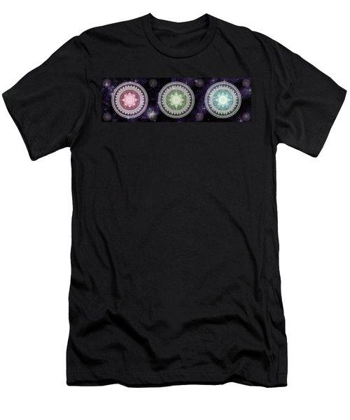 Cosmic Medallians Rgb 2 Men's T-Shirt (Slim Fit)