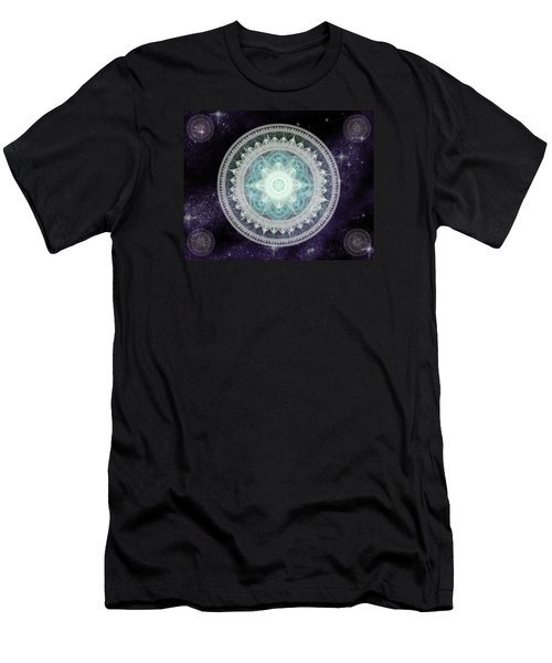 Cosmic Medallions Water Men's T-Shirt (Slim Fit) by Shawn Dall