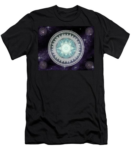 Cosmic Medallions Water Men's T-Shirt (Athletic Fit)