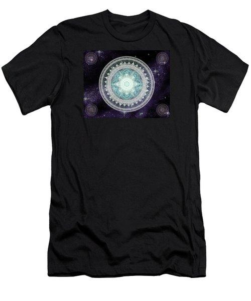 Cosmic Medallions Water Men's T-Shirt (Slim Fit)