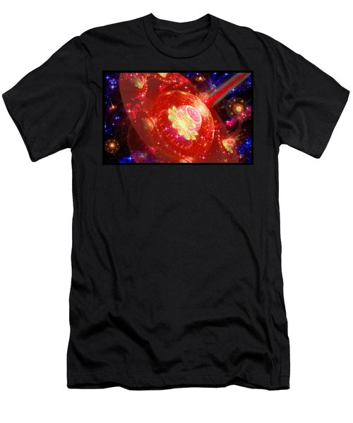 Cosmic Space Station 2 Men's T-Shirt (Athletic Fit)