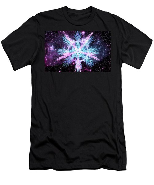 Cosmic Starflower Men's T-Shirt (Athletic Fit)