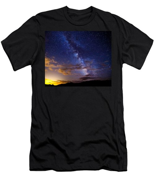 Cosmic Traveler  Men's T-Shirt (Athletic Fit)