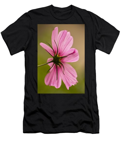 Cosmos In Pink Men's T-Shirt (Athletic Fit)