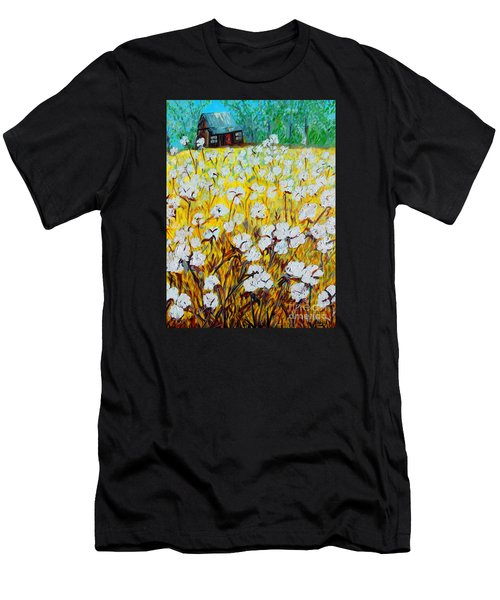 Cotton Fields Back Home Men's T-Shirt (Athletic Fit)