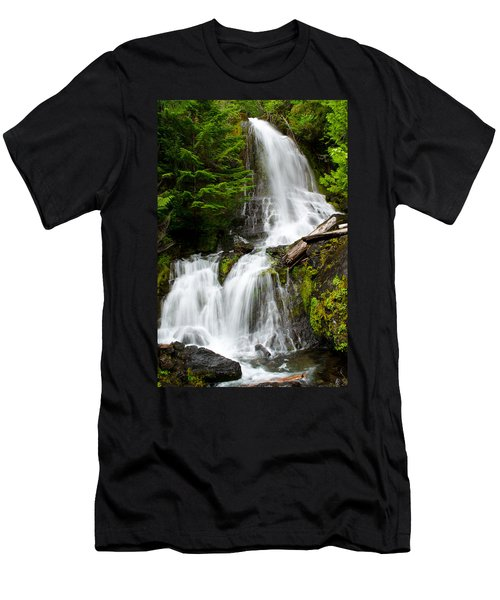Cougar Falls Men's T-Shirt (Athletic Fit)