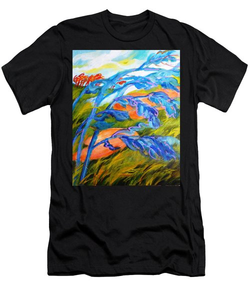 Count The Wind Men's T-Shirt (Athletic Fit)