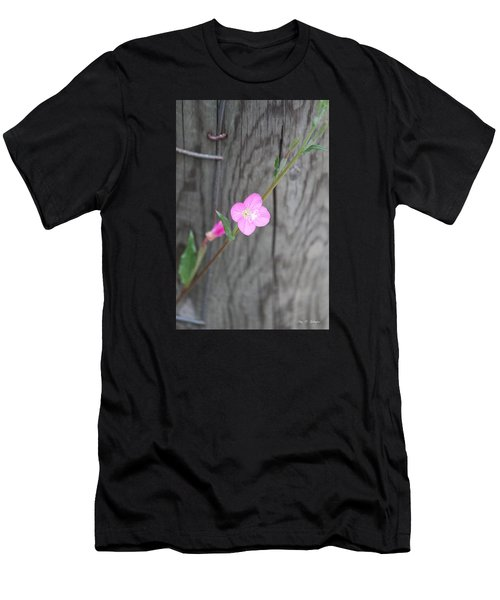 Country Flower  Men's T-Shirt (Athletic Fit)