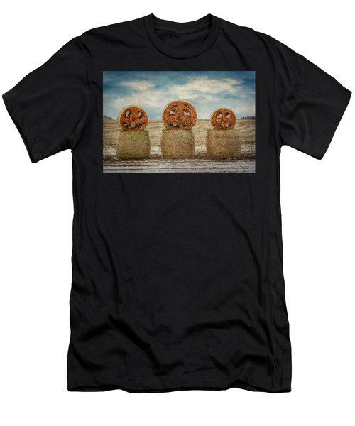 Country Halloween Men's T-Shirt (Athletic Fit)