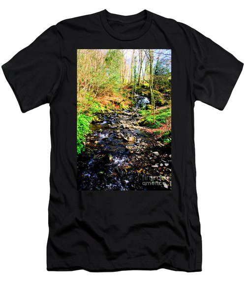 Men's T-Shirt (Slim Fit) featuring the photograph Country Life by Doc Braham