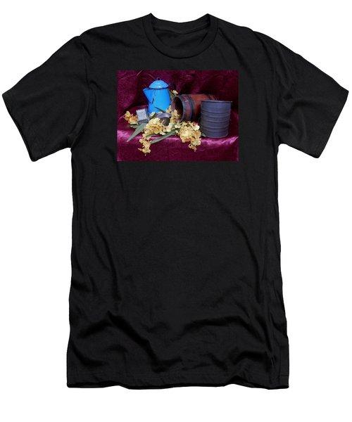 Country Life Men's T-Shirt (Slim Fit) by Pamela Walton