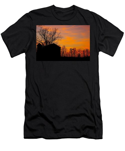 Country View Men's T-Shirt (Athletic Fit)