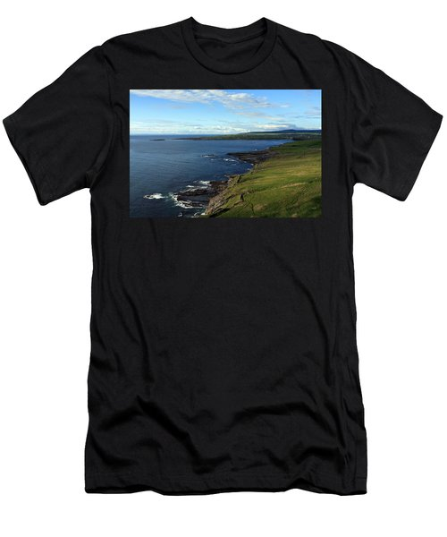 Men's T-Shirt (Athletic Fit) featuring the photograph County Clare Coast by Aidan Moran