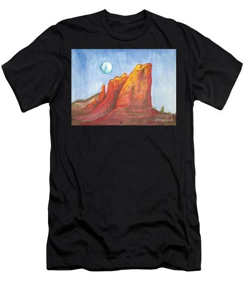 Court House Butte  Men's T-Shirt (Athletic Fit)